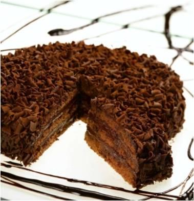 Torta cioccolato e nocciola