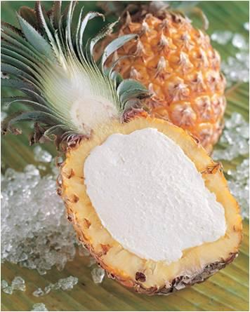 Ananas ripieno